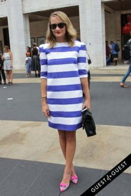 ashley fultz in NYFW Style From the Tents: Street Style Day 3