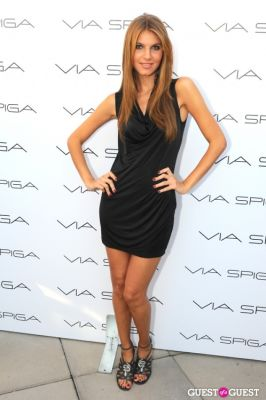 ashley haas in VIA SPIGA 25TH ANNIVERSARY EVENT/PARTY