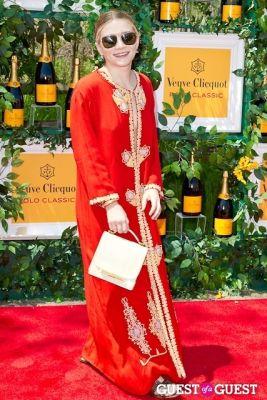 ashley olsen in Veuve Clicquot Polo Classic 2013