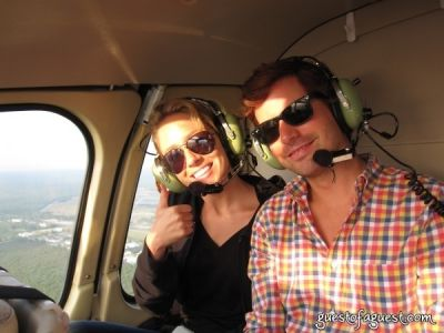 james brooks in Ventura Helicopter Ride To The Hamptons