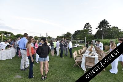 athena calderone in Cointreau & Guest of A Guest Host A Summer Soiree At The Crows Nest in Montauk