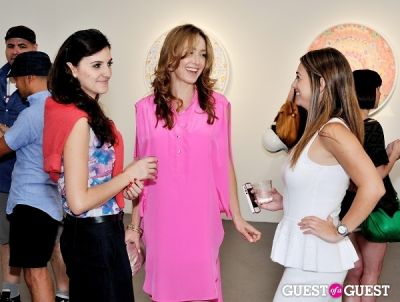 aubree greenberger in Bowry Lane II exhibition opening