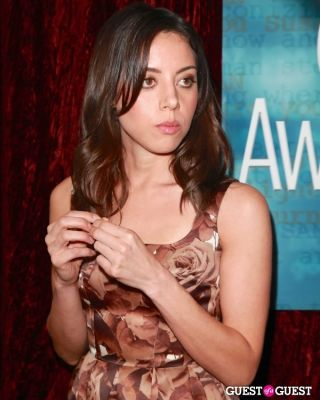 aubrey plaza in 2013 Writers Guild Awards L.A. Ceremony