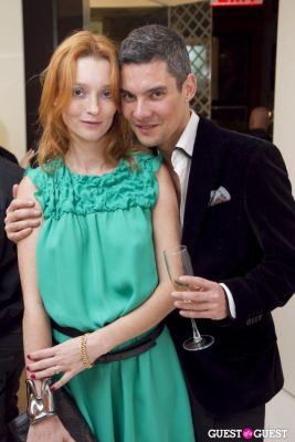 audrey marnay in Longchamp/LOVE Magazine event
