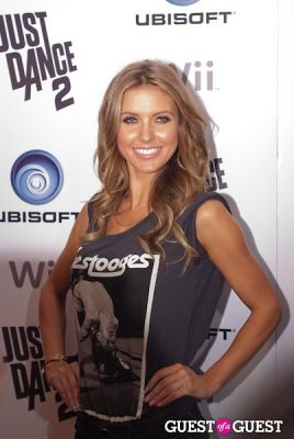 audrina patridge in Ubisoft Just Dance 2 Launch Party
