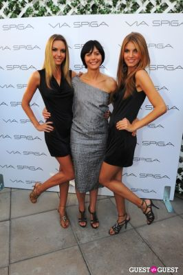 paola venturi in VIA SPIGA 25TH ANNIVERSARY EVENT/PARTY