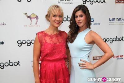 ava fedorov in Gogobot's A Taste of St. Tropez + Nuit Blanche at Beaumarchais