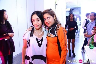 avena galleger-and-analisa-teachworth in New Museum Next Generation Party