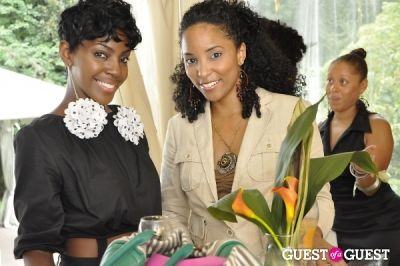 ayana n.-teal in Shea Radiance Target Launch Party