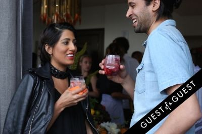 azeeza khan in Guest of a Guest & Cointreau's NYC Summer Soiree At The Ludlow Penthouse Part I