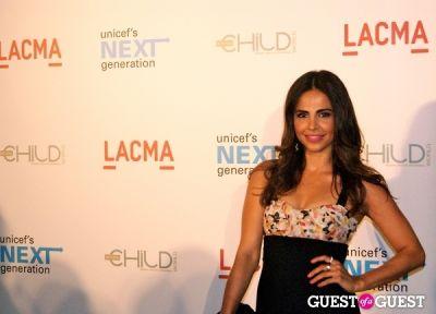 azita ghanizada in UNICEF Next Generation LA Launch Event