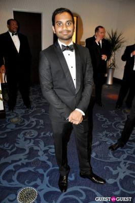 aziz ansari in The White House Correspondents' Association Dinner 2012