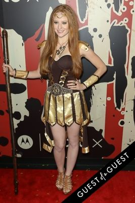 barbara meier in Heidi Klum's 15th Annual Halloween Party