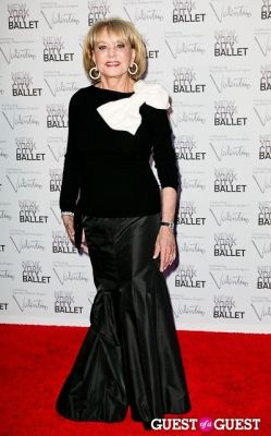 barbara walters in New York City Ballet Fall Gala Celebrates Valentino