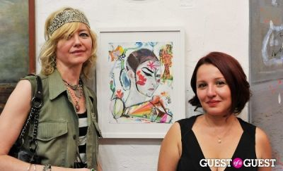basak malone in Summer in Soho and a special exhibition by Matthew Lauretti