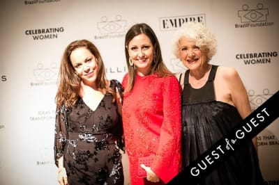 leona forman in Brazil Foundation XII Gala Benefit Dinner NY 2014