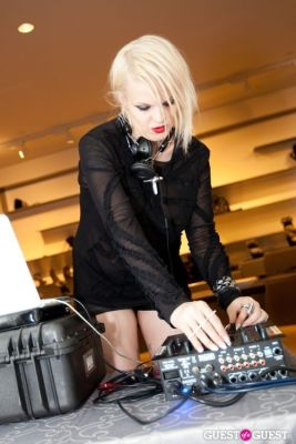 becka diamond in The Ash Flagship NYC Store Event