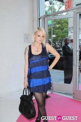 becka diamond in I.N.C Fall 2011 Launch Party