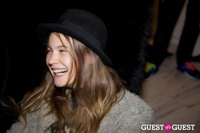 behati prinsloo in Alexander Wang & American Express Exclusive Shopping Event