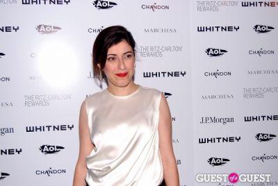 behnaz sarafpour in Whitney 2011 Studio Party