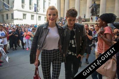 bella thorne in Fashion Week Street Style: Day 7