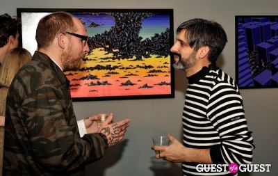 lee baker in COLOR or COLOUR Exhibition Opening