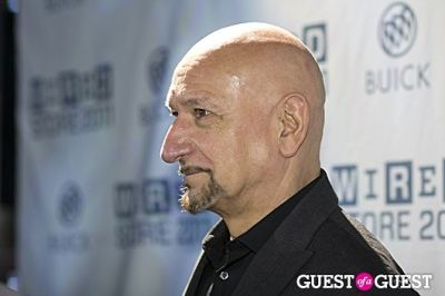 ben kingsley in 2011 Wired Store Opening Night Launch Party