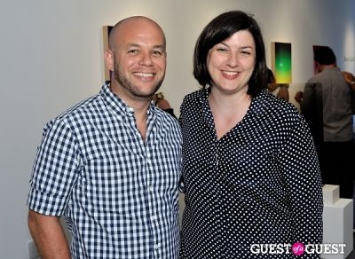 gina fraone in Bowry Lane II exhibition opening