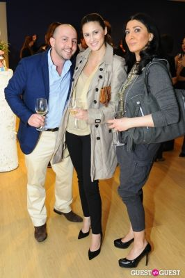 beri meric in IvyConnect NYC Presents Sotheby's Gallery Reception