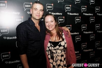 beth fisher in BBM Lounge/Mark Salling's Record Release Party
