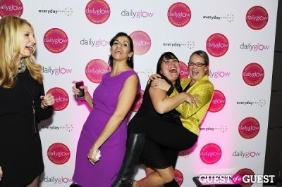 dora roman in Daily Glow presents Beauty Night Out: Celebrating the Beauty Innovators of 2012
