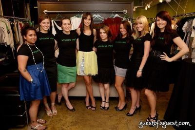 amy lee in The Green Room NYC Trunk Show