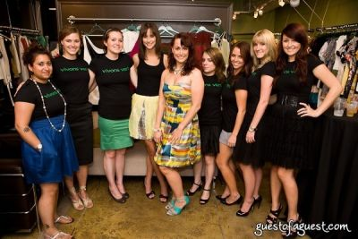 sarah flemmings in The Green Room NYC Trunk Show