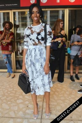beverly beal in NYFW Style From the Tents: Street Style Day 4