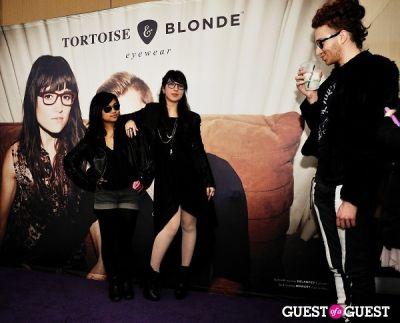 ronen verbit in Tortoise & Blonde Eyewear Collection Launch
