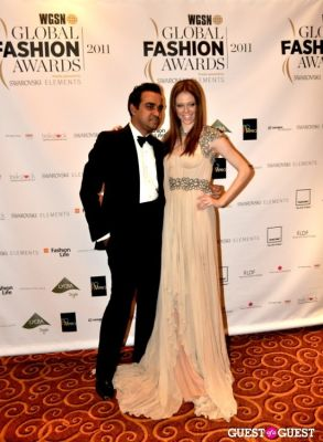 bibhu mohapatra in WGSN Global Fashion Awards.