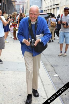 bill cunningham in NYFW Style From the Tents: Street Style Day 8