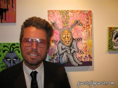 bill powers in Damon Johnson Gallery Opening