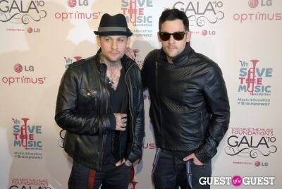 joel madden in VH1 SAVE THE MUSIC FOUNDATION 2010 GALA