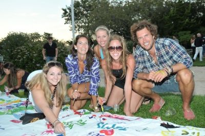 blake mycoskie in TOMS Shoes Beach Party