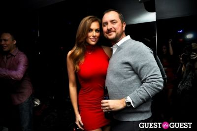 blakeley shea in Midtown's Little Red Dress Party