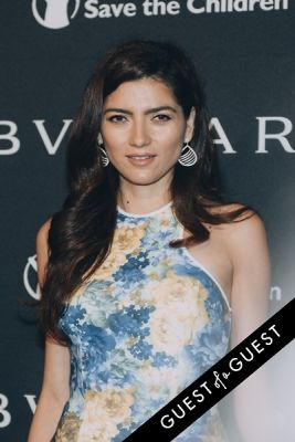 blanca blanco in BVLGARI Partners With Save The Children To Launch
