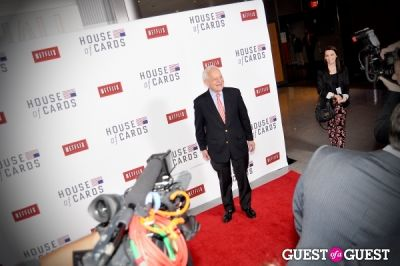 bob schieffer in House Of Cards Premiere
