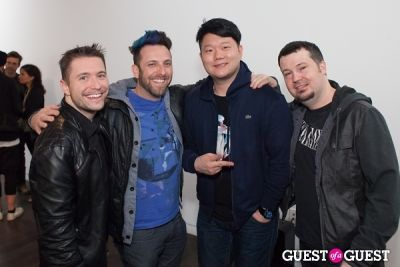 jay kim in An Evening with The Glitch Mob at Sonos Studio