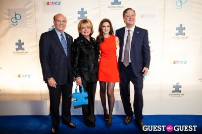 suzanne wright in NASCAR and Autism Speaks Present Speeding for a Cure 2013
