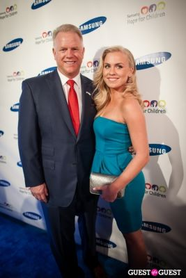 boomer esiason in Samsung Hope For Children Gala 2013