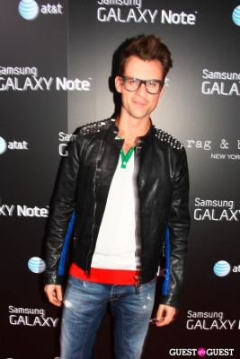 brad goreski in AT&T, Samsung Galaxy Note, and Rag & Bone Party