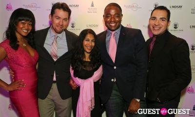 john saldana in Newsbabes Bash for Breast Cancer 2013