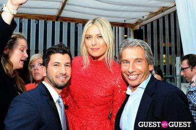 hank freid in Maria Sharapova Hosts Hamptons Magazine Cover Party At Haven Rooftop at the Sanctuary Hotel