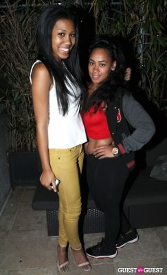 bre chardae in Bedloo LA Launch Party